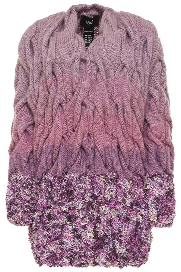 Lalo Cardigans wool cardigan ombre