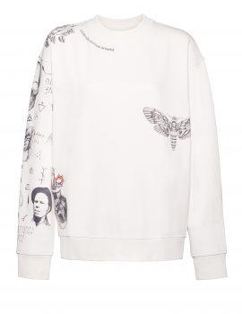 Tattoosweaters Sweater Weiss